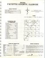 Index Map, Fayette County 1968